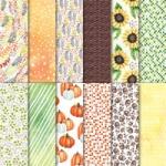 Designerpapier Herbstimpressionen