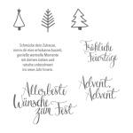 STempelset Malerische Weihnachten