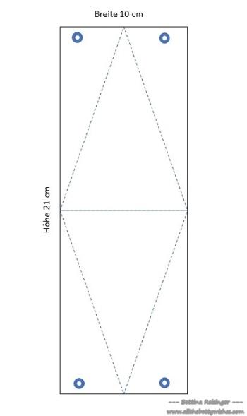 Anleitung Dreiecksbox