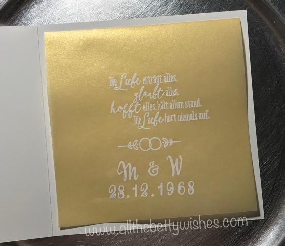 Goldene Hochzeit All The Betty Wishes